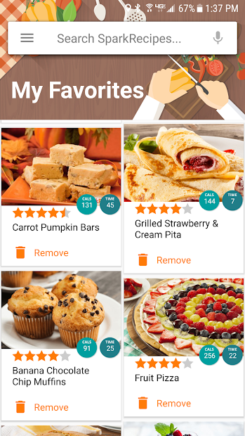 Healthy Recipes & Calculator screenshot 1