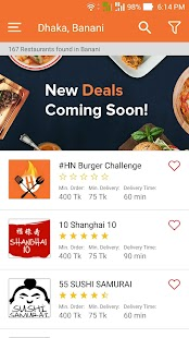 HungryNaki - Food Delivery- screenshot thumbnail