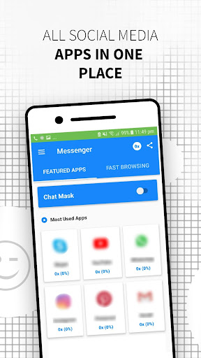 PC u7528 The Messenger App: Free for message & chat 2