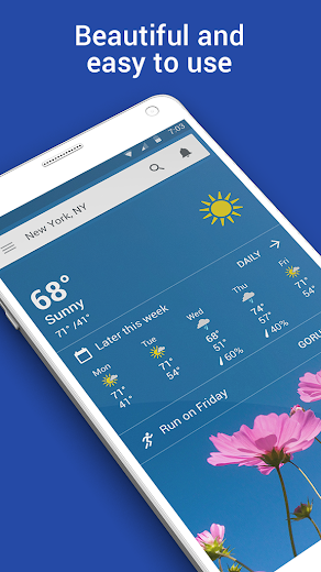Screenshot 0 for The Weather Channel's Android app'
