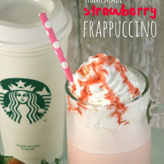 Starbucks Strawberry Frappuccino.