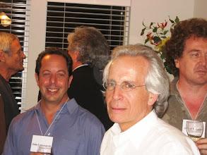 Photo: PROFESSORS JOHN LOWNEGRUB AND STAN OSHER