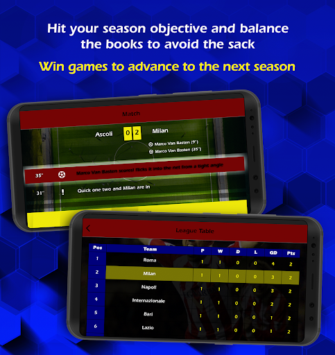Retro Football Management screenshots 2