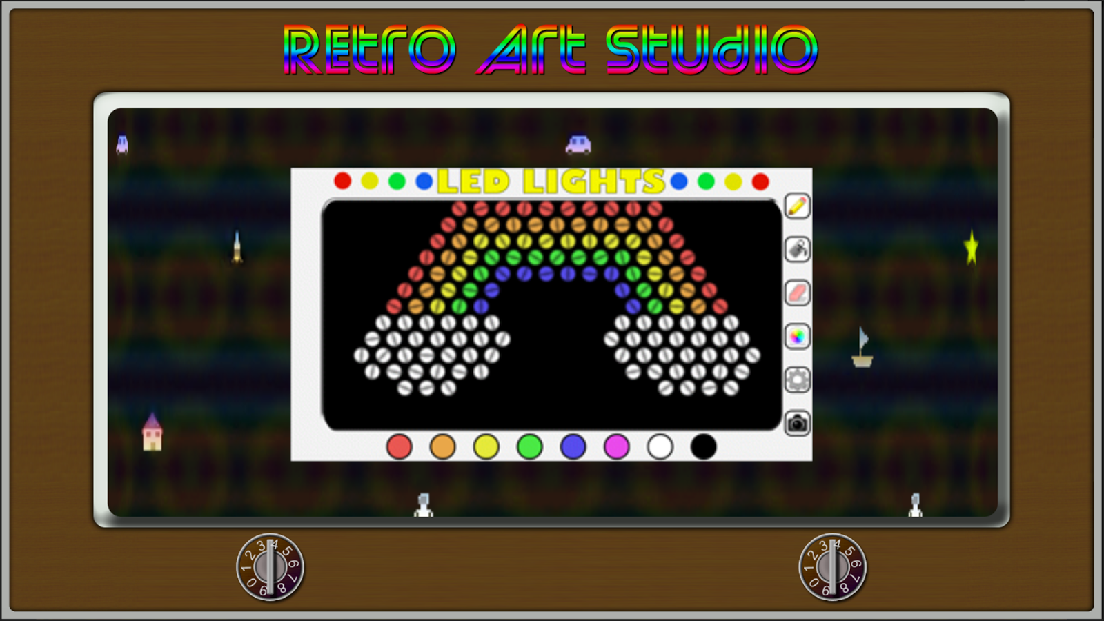 Retro Art Studio- screenshot