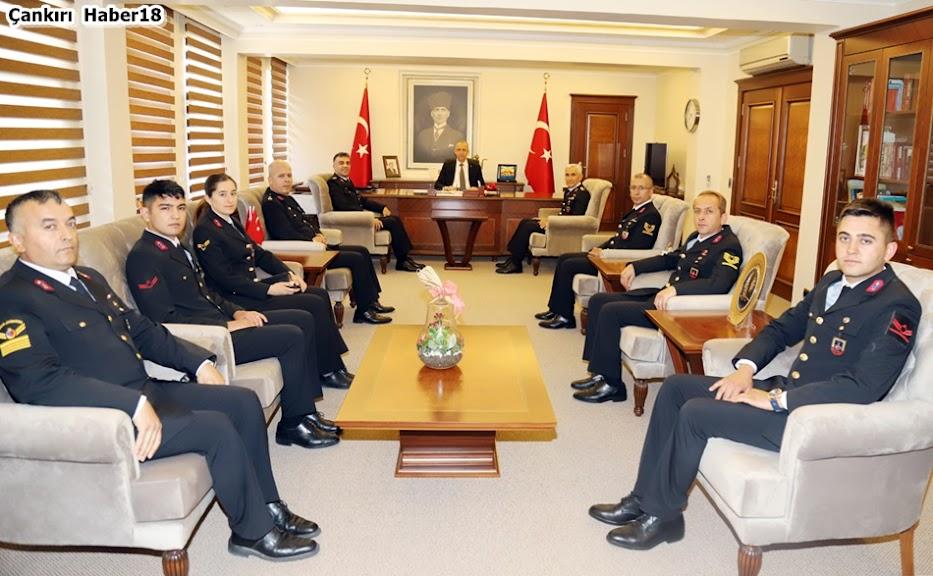 Vali Hamdi Bilge AKTAŞ,Çankırı İl Jandarma Komutanlığı,Hıdır AYÇİÇEK,