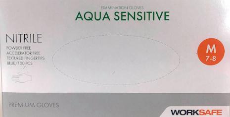 Nitrilhandskar aqua sensitive medium