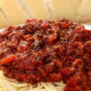 Easy Italian Pasta Sauce.