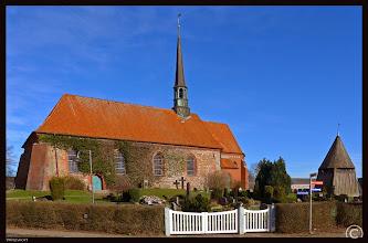 Photo: In Witzwort steht die im 15. Jahrhundert errichtete Backsteinkirche St. Marien.