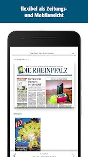 RHEINPFALZ-App - náhled