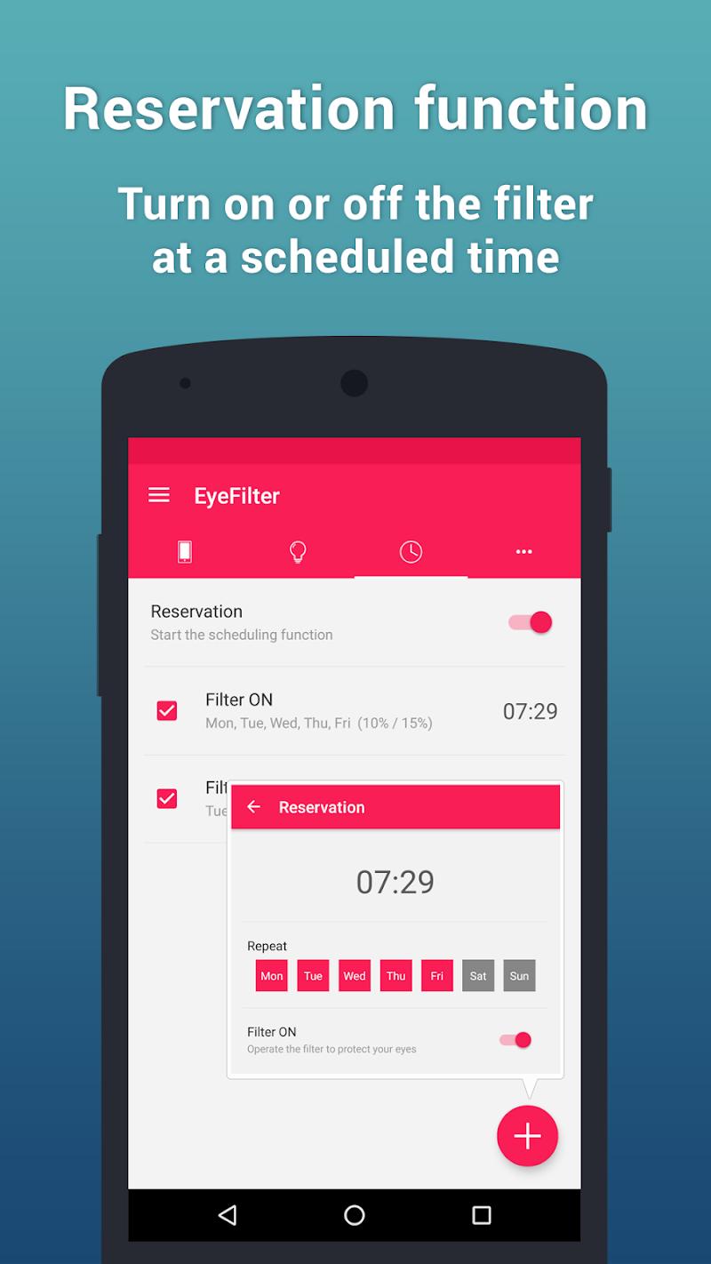 EyeFilter PRO - Bluelight Screenshot 3