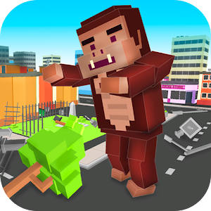 Cube Kong: Gorilla Simulator for PC and MAC