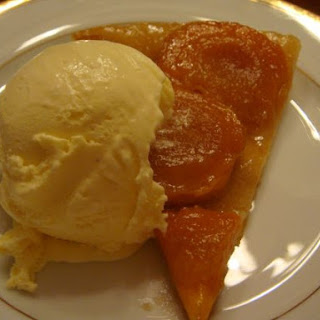 Apricot Tart Ginger Ice Cream