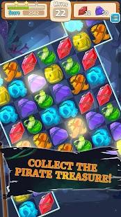 Pirate Abyss Match 3 screenshot