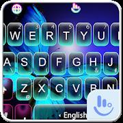 Moonlight Butterfly Keyboard Theme