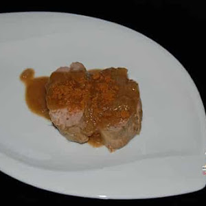 Filet Mignon with Speculoos Sauce