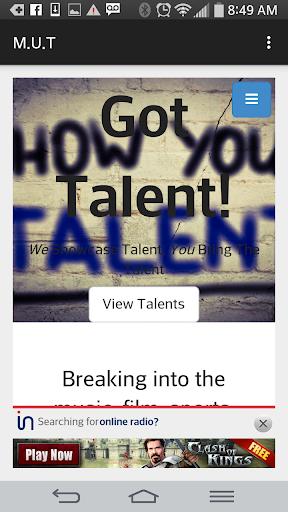 Mykalz Unsigned Talents M.U.T
