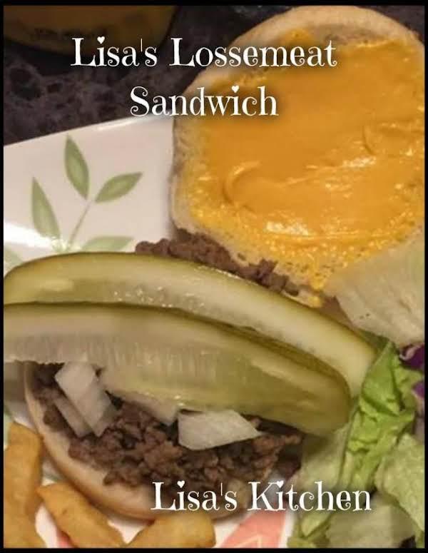 Lisa's Lossemeat Sandwich Recipe