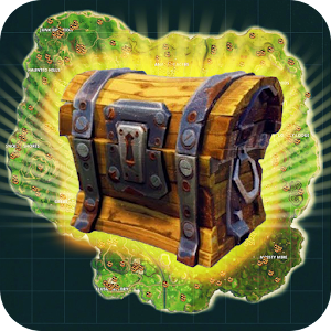 Map with Chests for Fortnite for PC