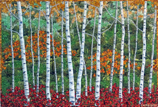 Photo: Autumn BIrches, 39 x 27 inches