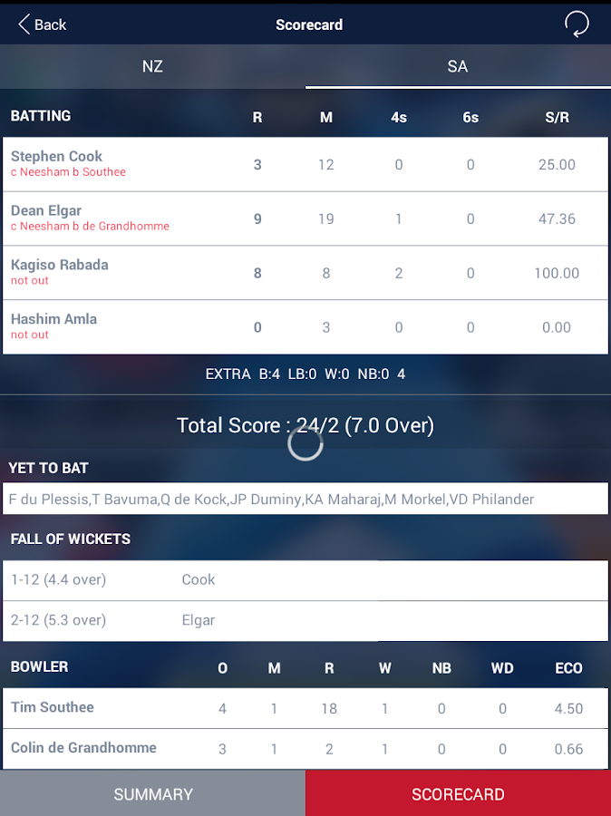 Cricket Live Score & Schedule- screenshot