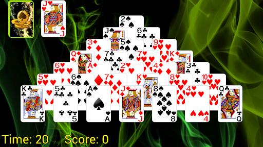 Pyramid Golf Solitaire screenshots 1