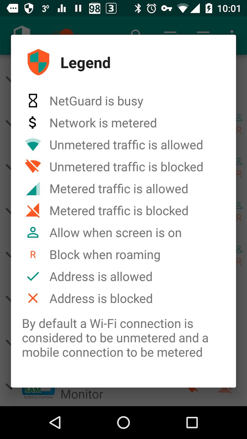 NetGuard - no-root firewall Screenshot 3
