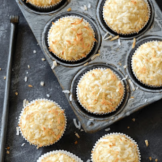 Coconut Banana Crunch Muffins.