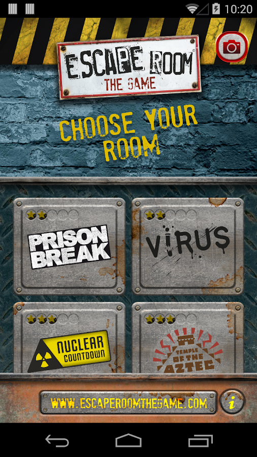 Escape Room The Game App- screenshot