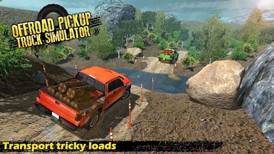 Off - Road Pickup Truck Simulator - náhled