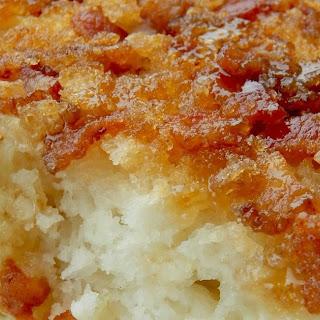 Upside Down Apple Bacon Pancake