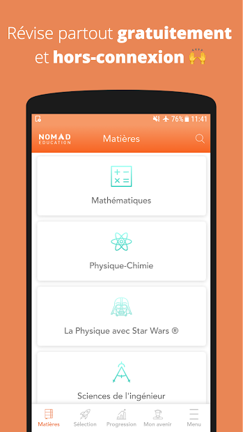 Bac S 2019 Android App Screenshot