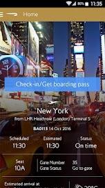 British Airways Screenshot 1