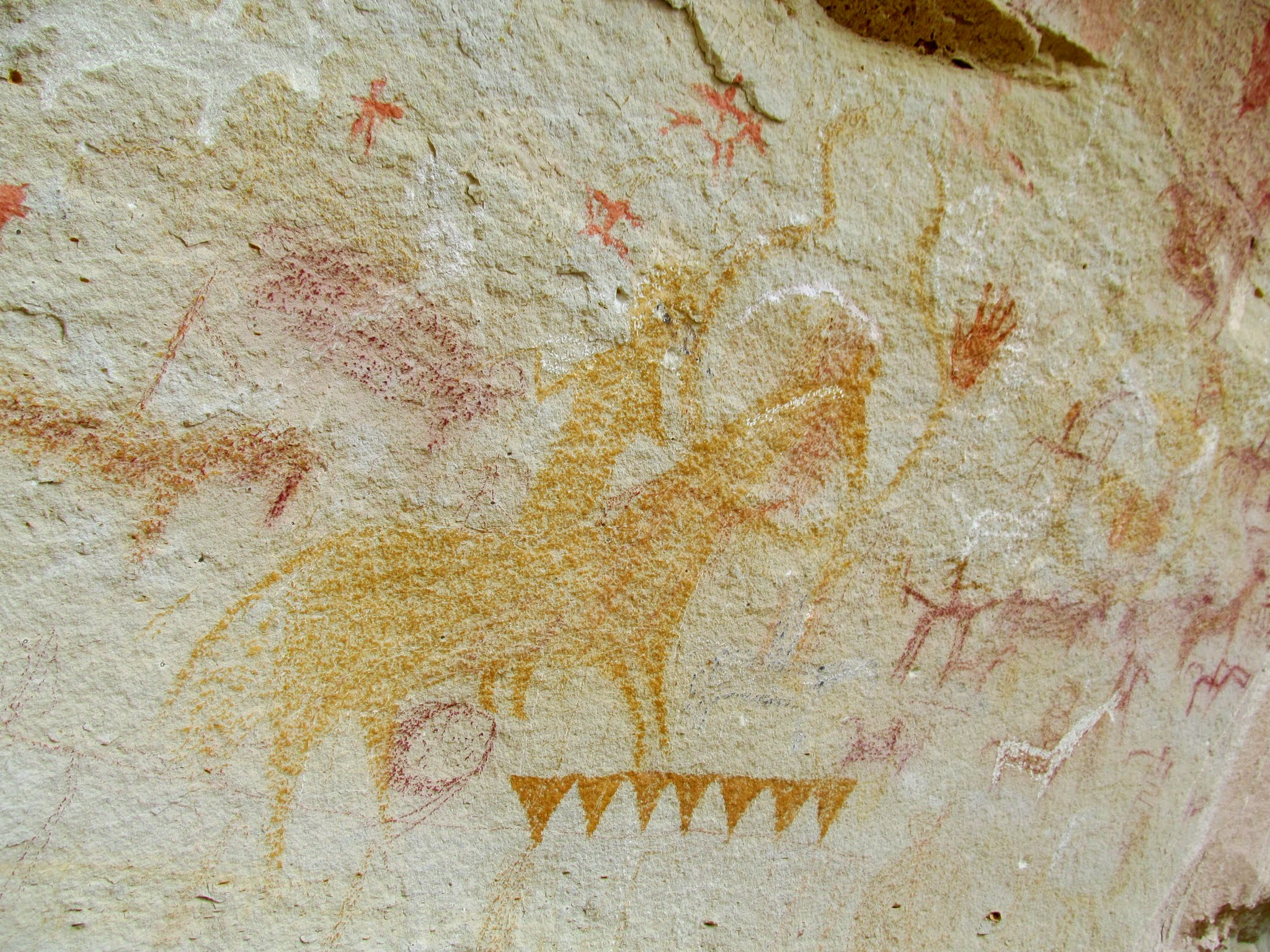 Photo: Rad Ute pictographs
