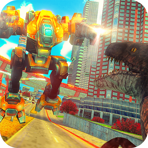 App Insights: Robot Vs Dinosaur - Rampage City Fighting