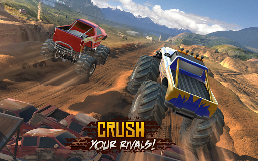 Racing Xtreme 2: Top Monster Truck & Offroad Fun - screenshot