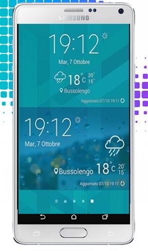 S6 Edge Launcher Theme: Galaxy
