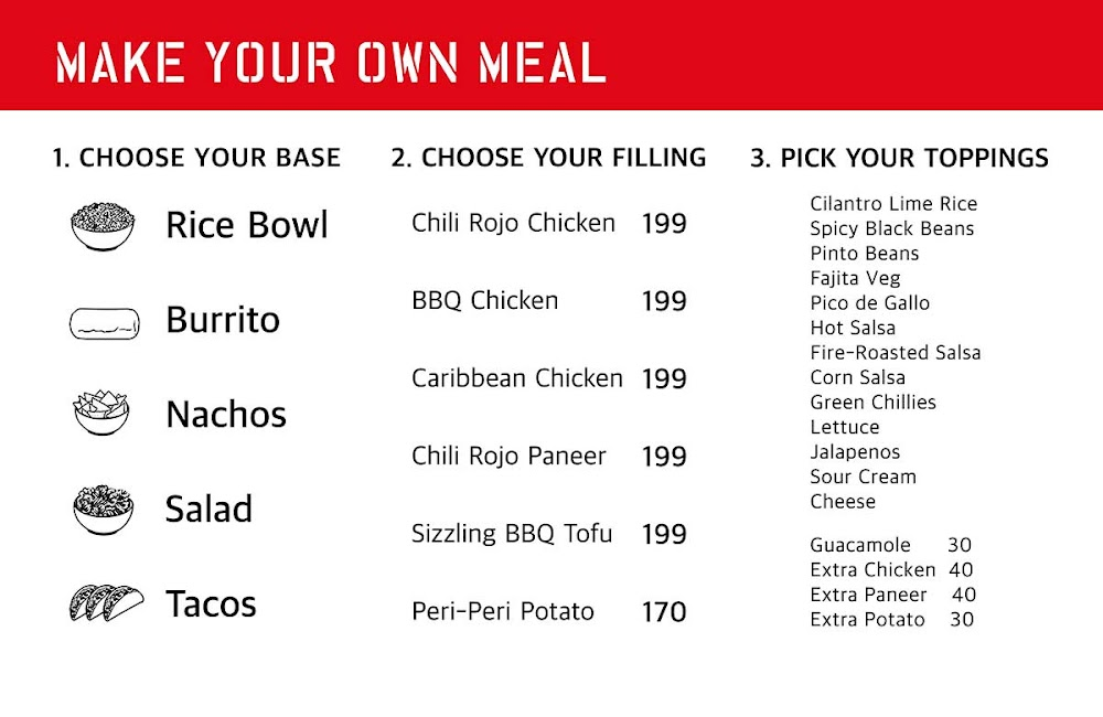 California Burrito menu 3