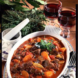 Provençal Rabbit Stew