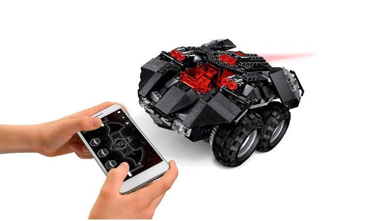 Contenido de Lego® 76112 Batmóvil Controlado por app