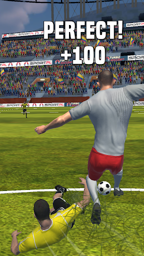 Turbo Soccer screenshot 1
