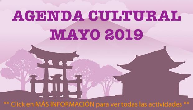 Agenda Cultural - Mayo 2019