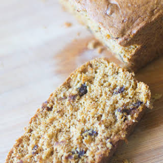 Cake Mix Pumpkin Bread.