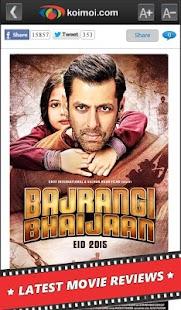 Bollywood News Reviews Videos - screenshot thumbnail