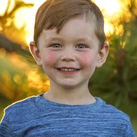 Short focus by Cameron  Cleland - Babies & Children Child Portraits ( sony, sunset, portrait, landscape )