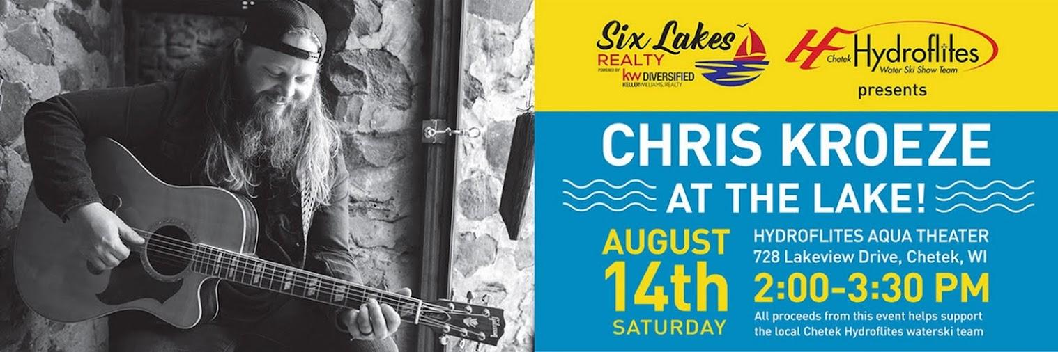 Chris Kroeze at the Lake