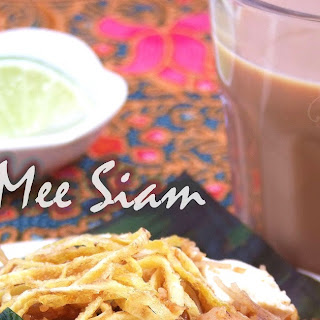Mee Siam (Malaysian Spicy Fried Rice Vermicelli).