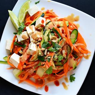 Noodle Free Tofu Pad Thai