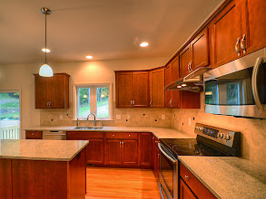Photo: Thje kitchen in one of our recently finished CYPRESS homes.