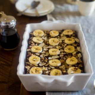 Vegan Banana Gingerbread Breakfast Quinoa Bake