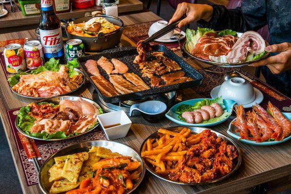 八道晟韓式火烤吃到飽